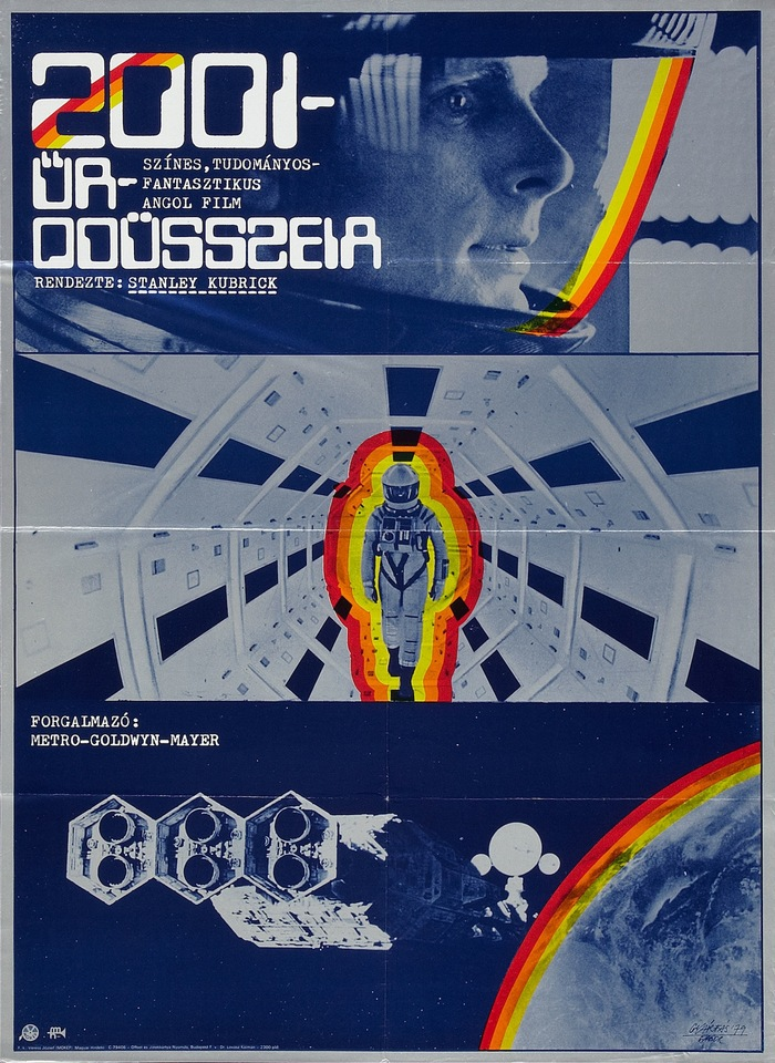 2001: A Space Odyssey (1979) Hungarian movie poster