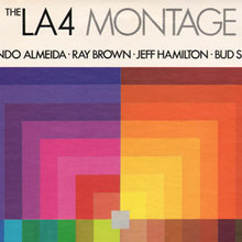 The LA4 – <cite>Montage</cite> album art