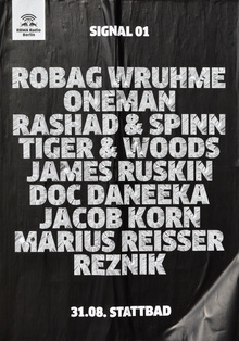 RBMA Radio Berlin Posters