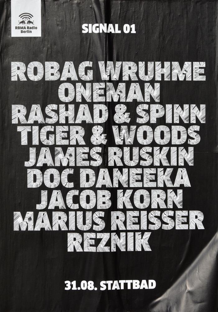 RBMA Radio Berlin Posters 1