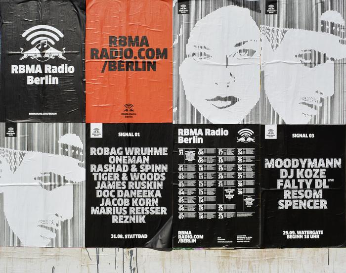 RBMA Radio Berlin Posters 2
