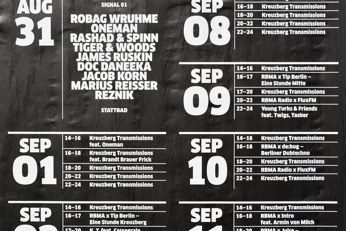 RBMA Radio Berlin Posters 3