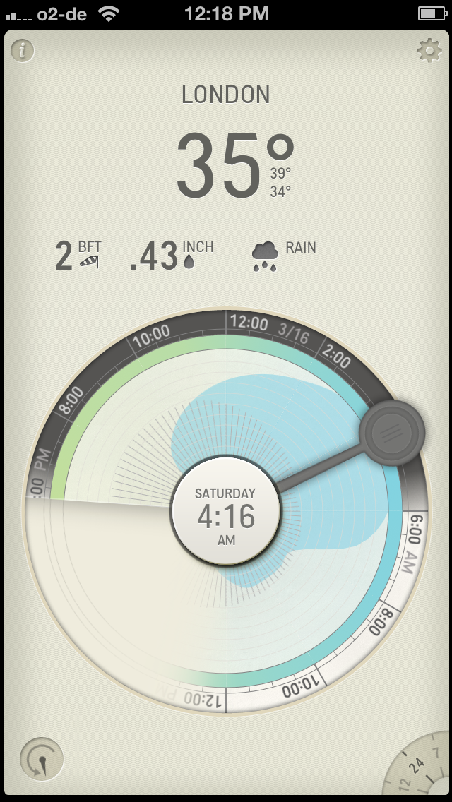 Partly Cloudy Weather App 4