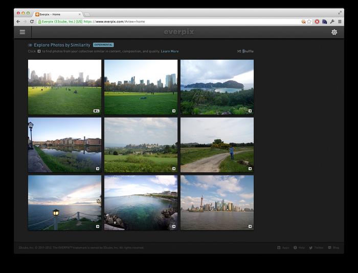 Everpix Website and Web App 4