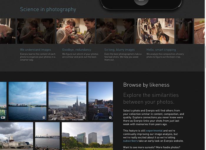 Everpix Website and Web App 6