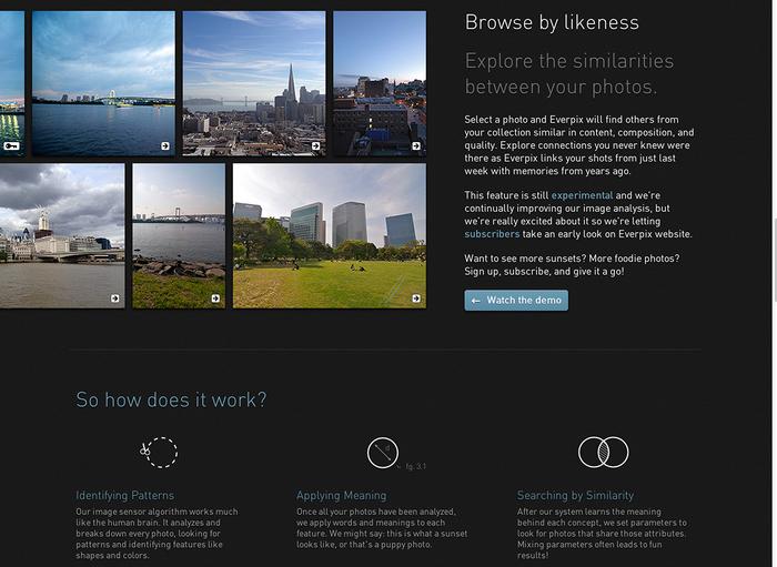 Everpix Website and Web App 7