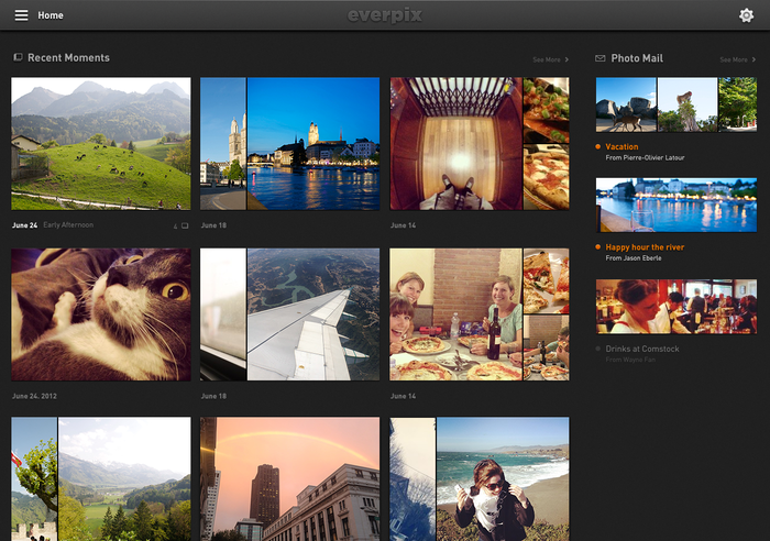 Everpix Website and Web App 10