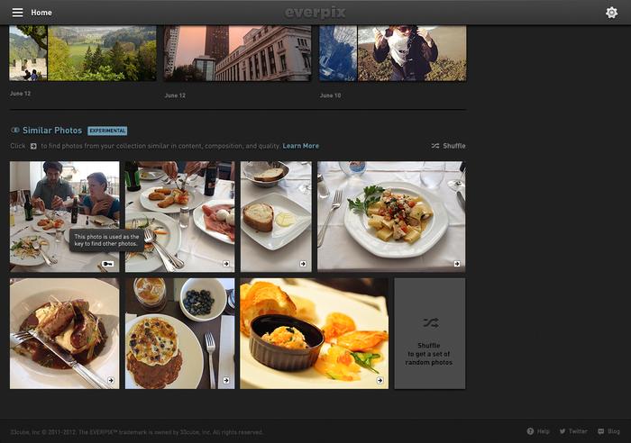 Everpix Website and Web App 11