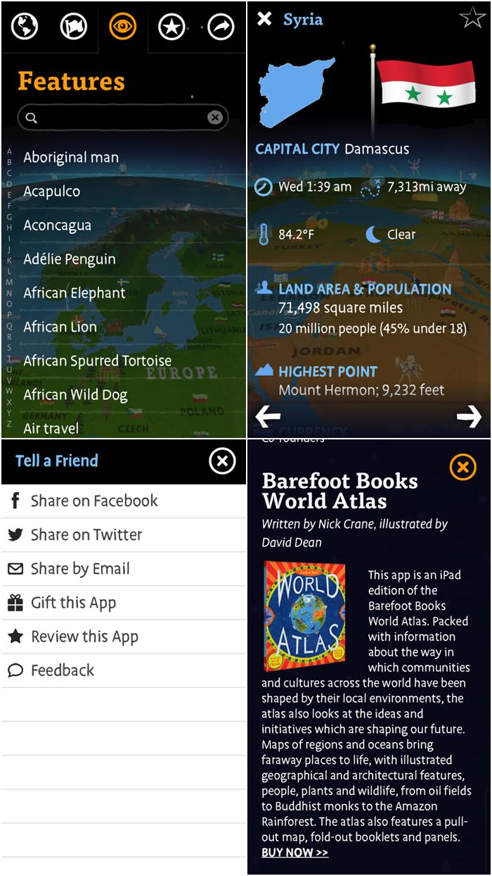 Barefoot Atlas iOS App 1