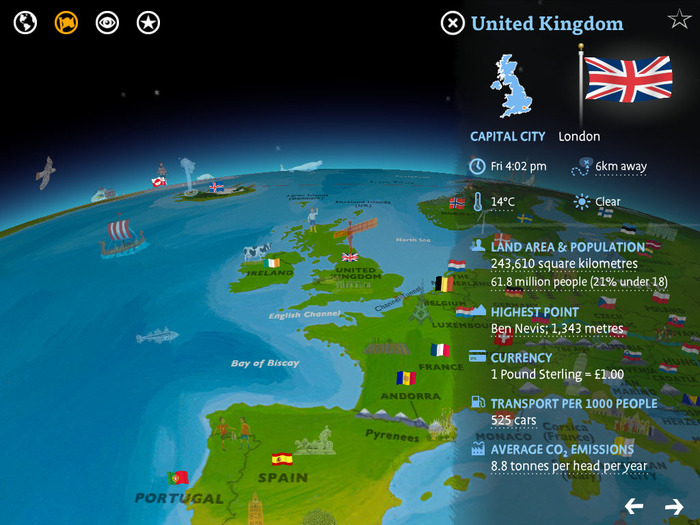 Barefoot Atlas iOS App 2