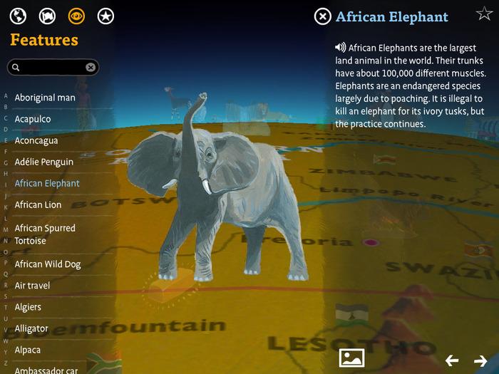 Barefoot Atlas iOS App 5