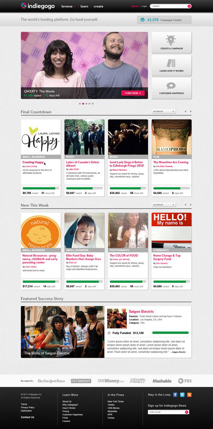 Indiegogo Branding (2012) 3