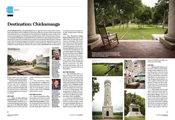 The Civil War Monitor, Fall 2013 5