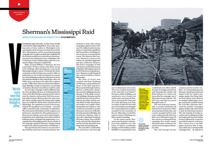 The Civil War Monitor, Fall 2013 7