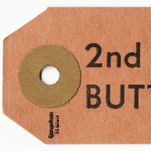 """""""2nd Grade Butterfat"""" Tag"""