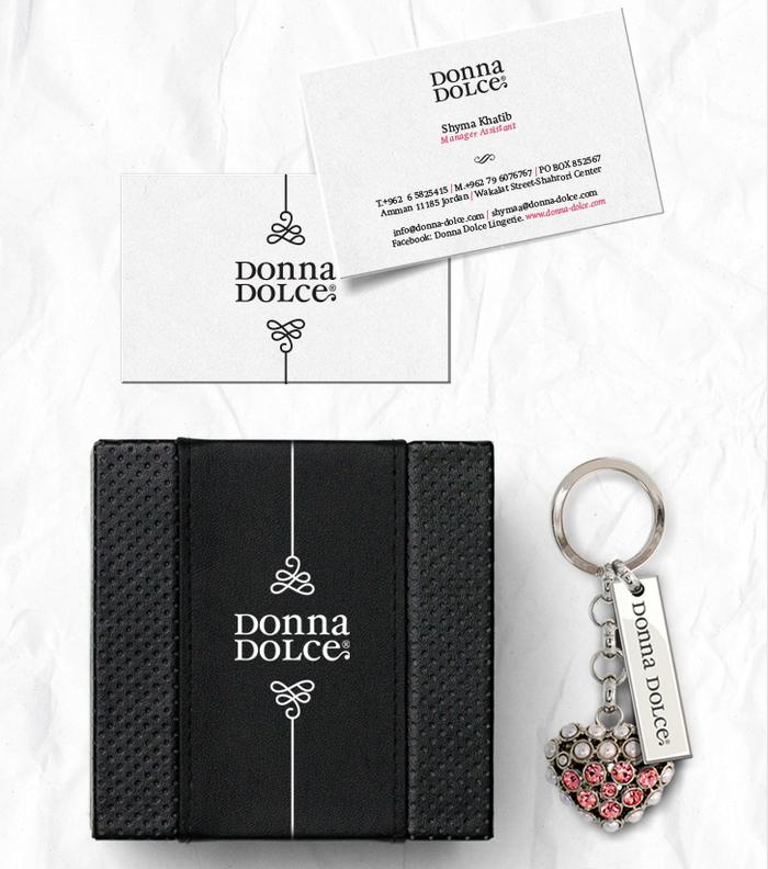 Donna Dolce identity 2