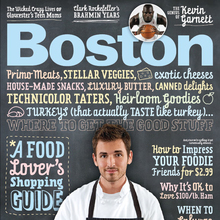 <cite>Boston</cite> Magazine, Nov. 2008, Food Issue