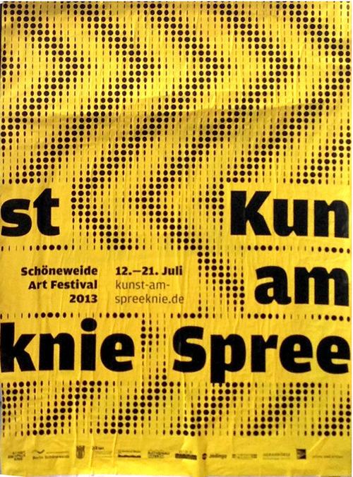 Kunst am Spreeknie Schöneweide Art Festival 1