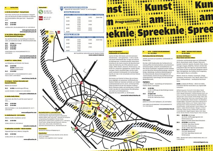 Kunst am Spreeknie Schöneweide Art Festival 2