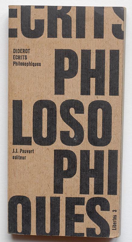 Ecrits Philosophiques book cover 1
