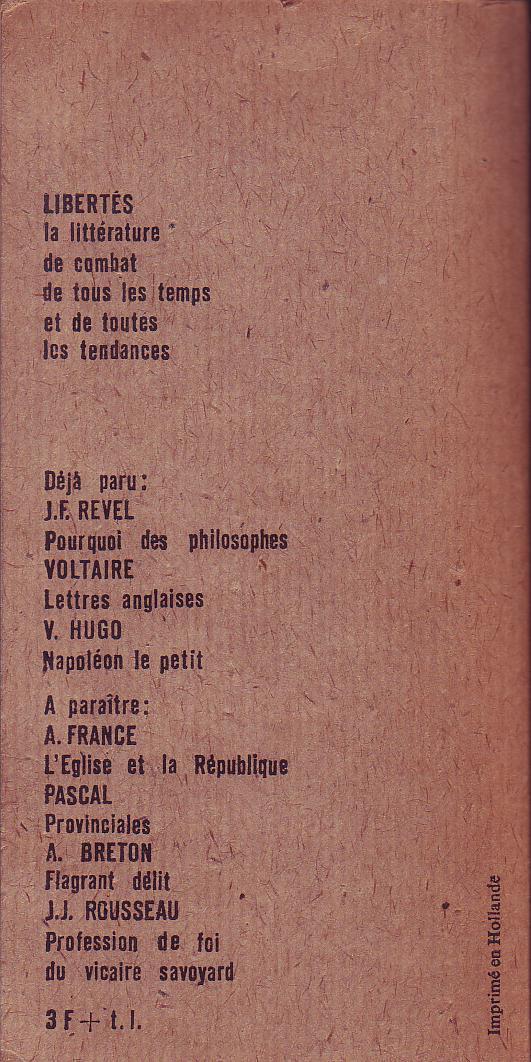 Ecrits Philosophiques book cover 2