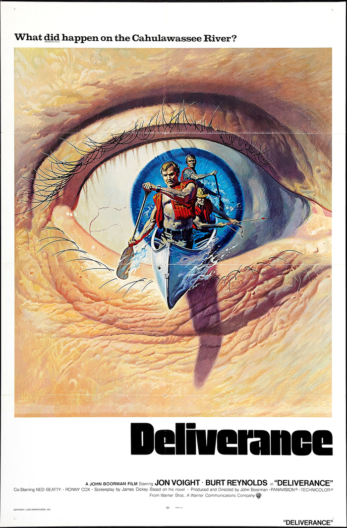 Deliverance (1972) movie posters 1