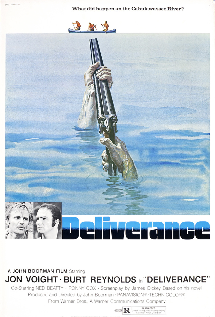 Deliverance (1972) movie posters 2