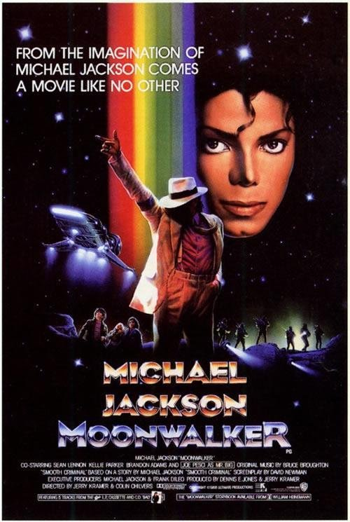 Moonwalker (1988) movie poster