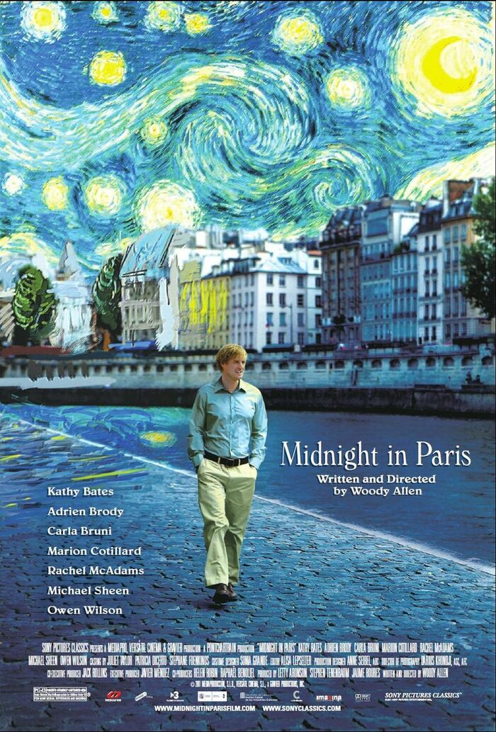 Woody Allen movie posters (2009–2013) 1