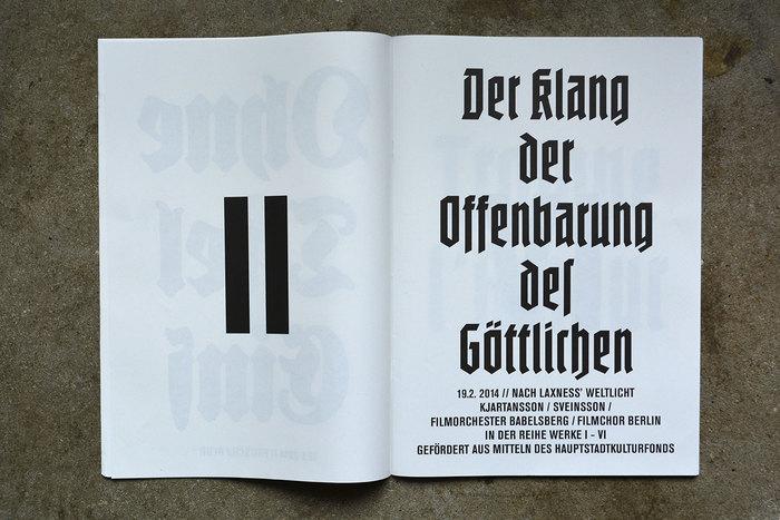 Volksbühne Berlin season magazine 2013/2014 8