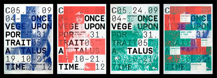 Posters for Galerie C, 2013–2014 Season 2