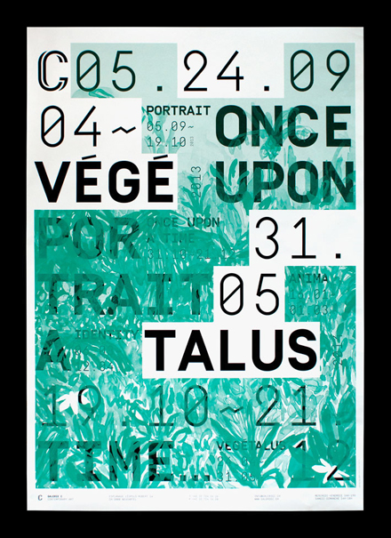Posters for Galerie C, 2013–2014 Season 5