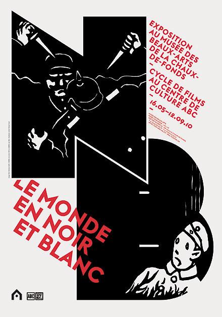 Posters for Musée des Beaux-Arts, La Chaux-de-Fonds (2010–2013) 4