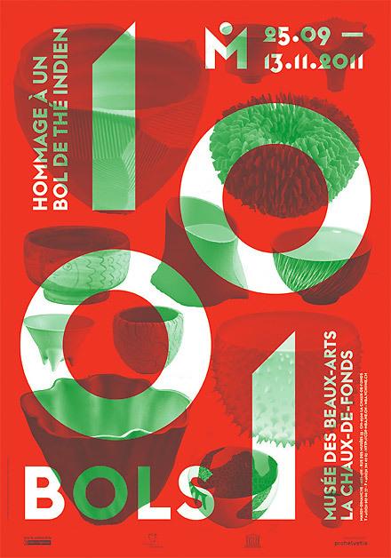 Posters for Musée des Beaux-Arts, La Chaux-de-Fonds (2010–2013) 7
