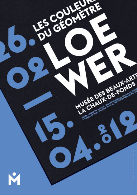 Posters for Musée des Beaux-Arts, La Chaux-de-Fonds (2010–2013) 6