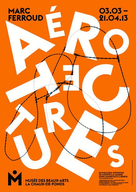 Posters for Musée des Beaux-Arts, La Chaux-de-Fonds (2010–2013) 9
