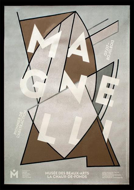 Posters for Musée des Beaux-Arts, La Chaux-de-Fonds (2010–2013) 10