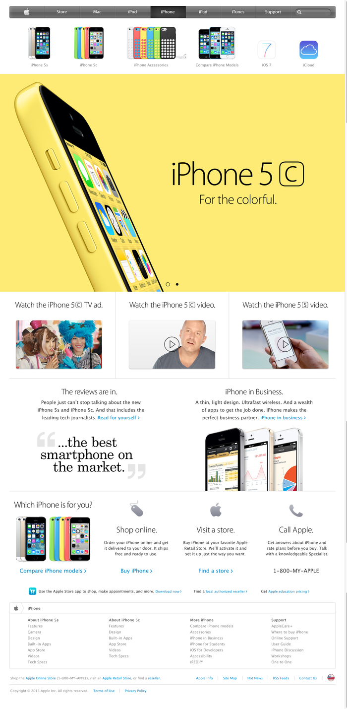 Apple.com (Sep, 2013) 3