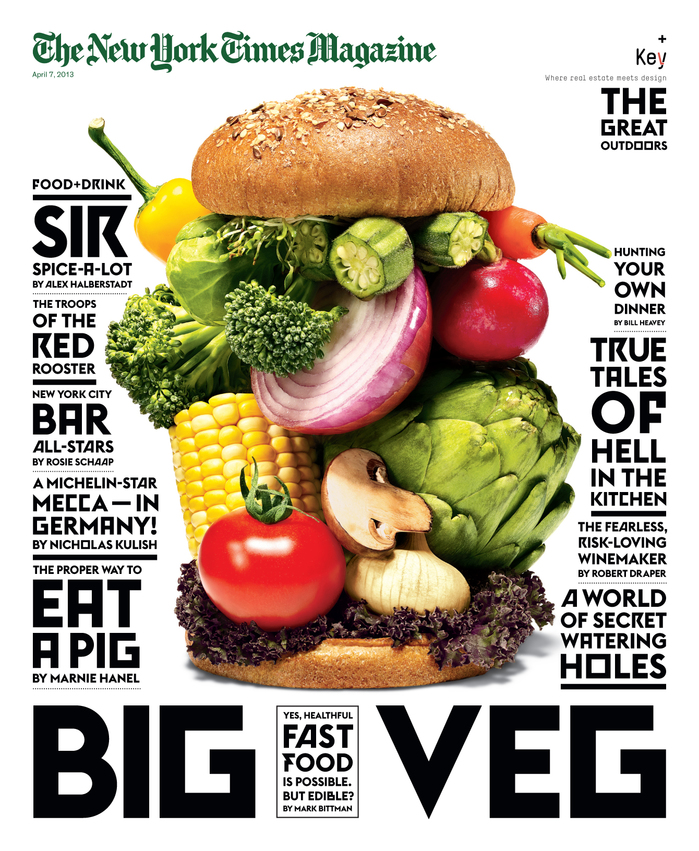 The New York Times Magazine, 2013 Food & Drink Issue 1