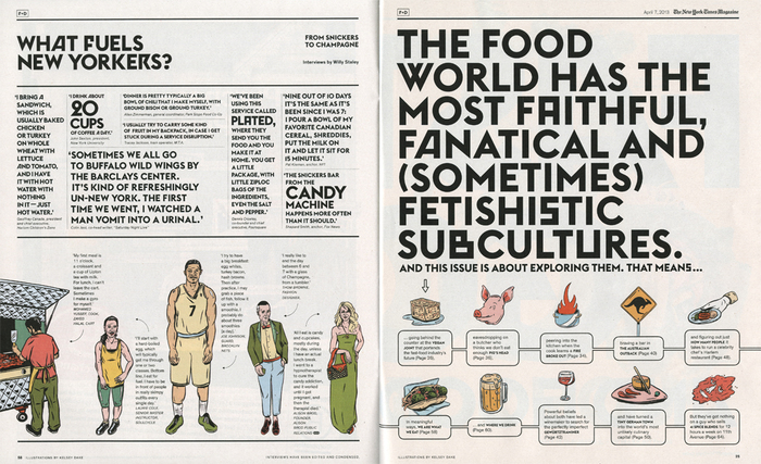 The New York Times Magazine, 2013 Food & Drink Issue 3