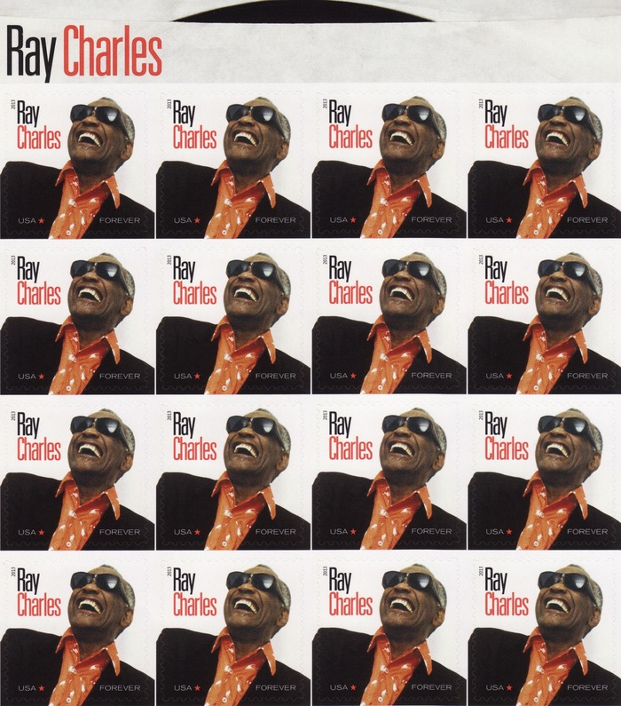 Ray Charles Commemorative Stamp 2
