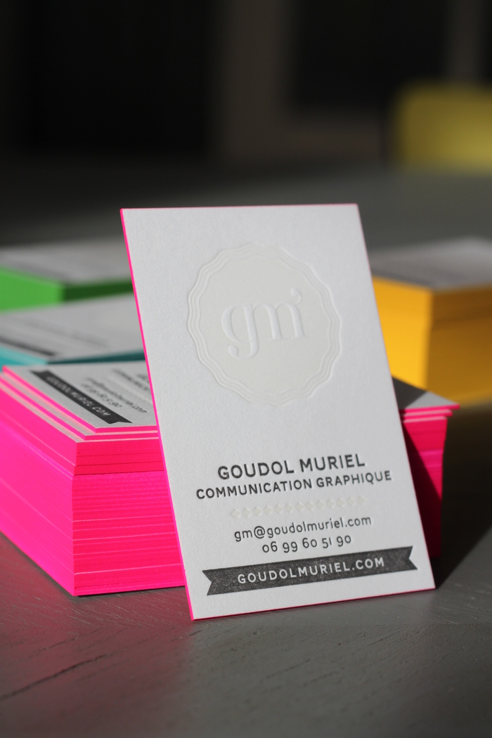 Goudol Muriel Business Cards 2