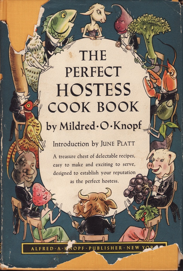 The Perfect Hostess Cook Book 1