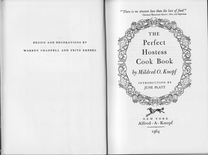 The Perfect Hostess Cook Book 3