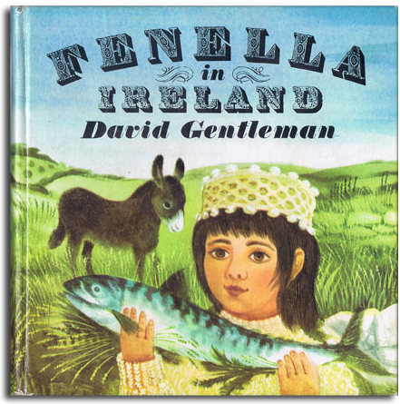 Fenella illustrated children books by David Gentleman 1