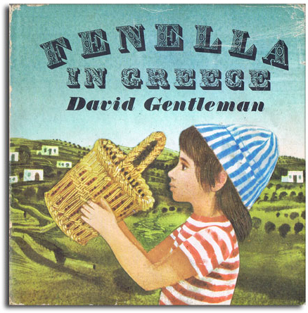 Fenella illustrated children books by David Gentleman 2