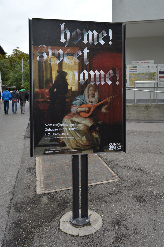 Home! Sweet Home! at Kunstmuseum St.Gallen 1