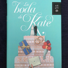 <cite>La Boda de Kate</cite> by Marta Rivera de la Cruz, Planeta Edition