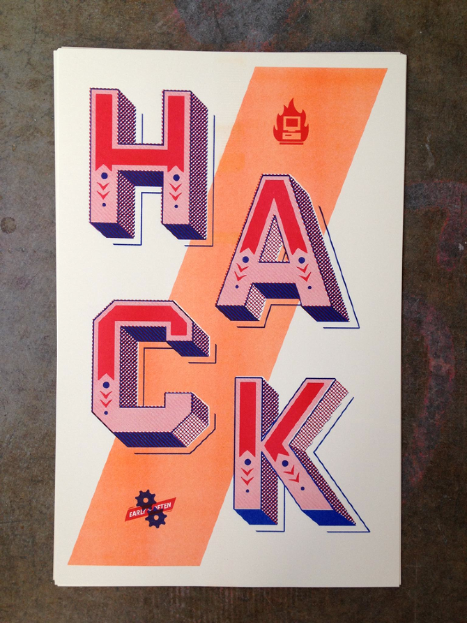 Hack Early/Often poster 1