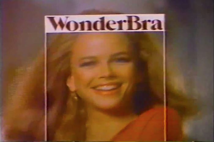 A 1979 television ad for Wonderbra directed by Richard Avedon.